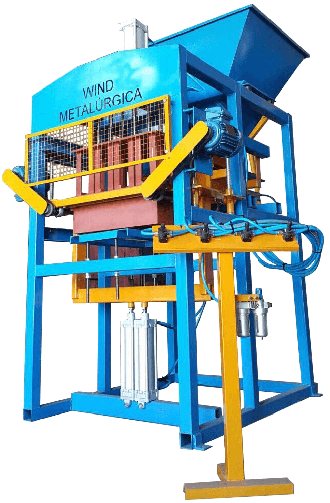 Maquina de blocos BL-4000: maquina de blocos pneumatica