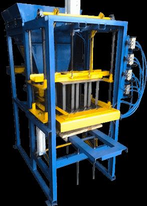 Maquina de blocos BL-3000: maquina de blocos pneumatica