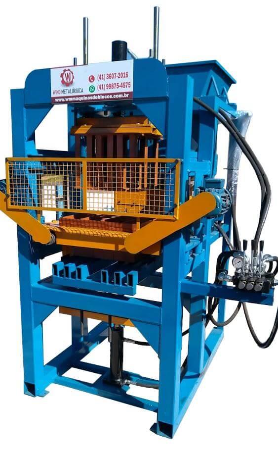 Máquina de Blocos Pneumática BL-3000S Hidráulica