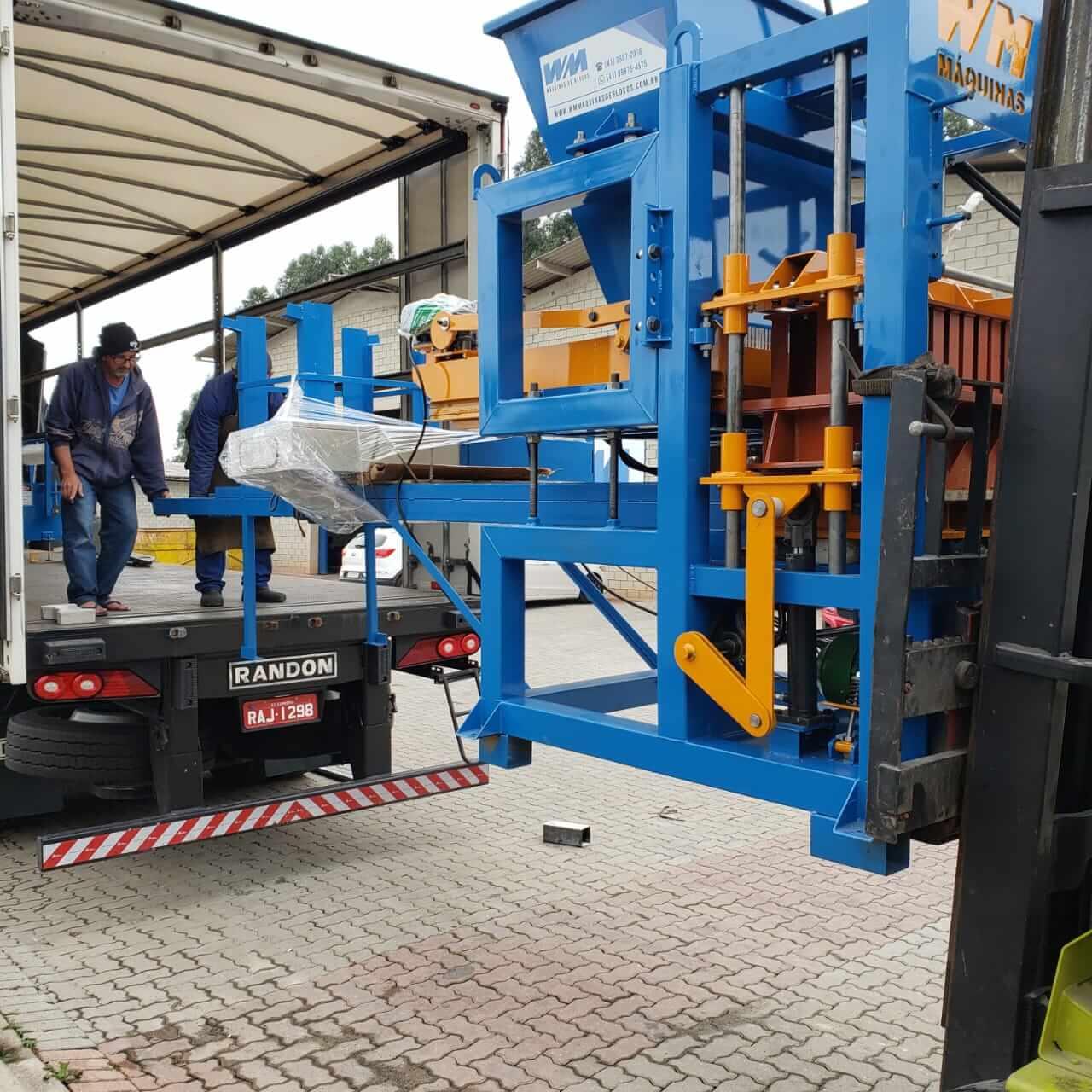 Maquina BL-4000H hidraulica