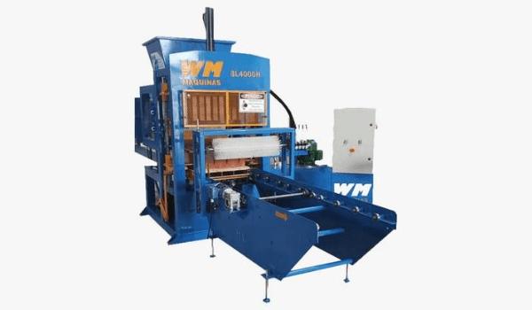 Máquina de Blocos Pneumática BL-4000H Hidráulica