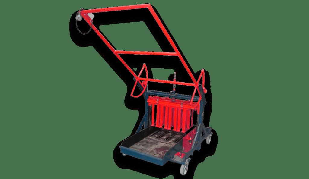 Máquina de blocos manual